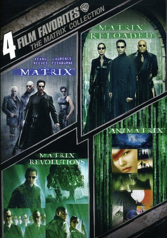 Matrix - 4 Film Favorite Collection - Box Set - DVD Or Blu-ray