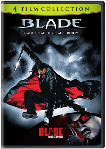 Blade - 4 Film Collection: Blade, Blade II, Trinity, House Of Chthon - 2009 - DVD