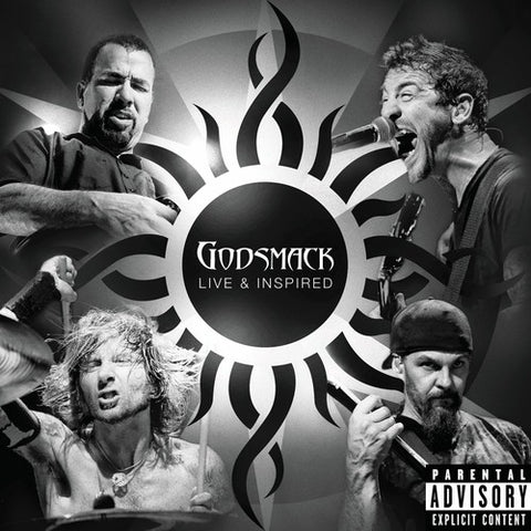 Godsmack - Live And Inspired CD [Explicit Content]