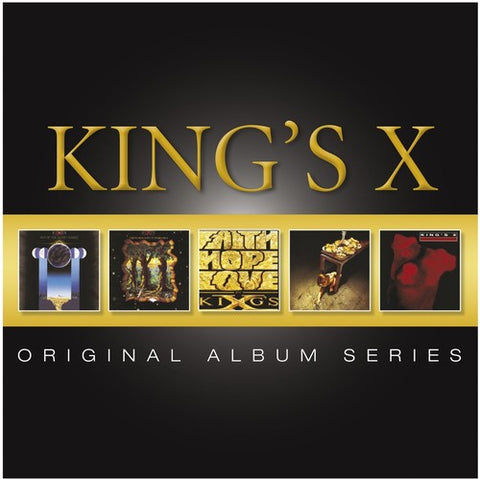 King's X - Original Album Series (German Import) 5 Disc Box Set -2013- 5CD