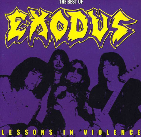 Exodus - Lessons In Violence: Best Of (Argentina Import) - CD