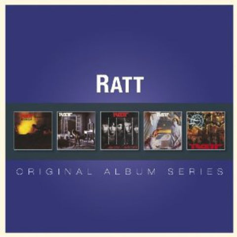 Ratt - Original Album Series (German Import) 5 Disc Box Set -2013- 5CD