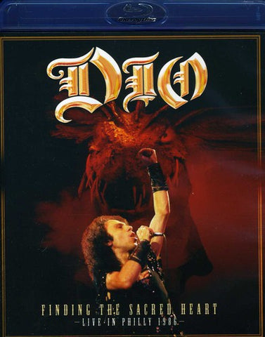 DIO - Finding The Sacred Heart - Live In Philly 86 - Blu-ray