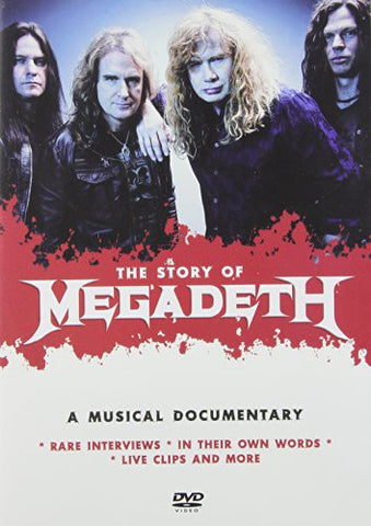 Megadeth - Story Of: Musical Documentary - 2017 - DVD