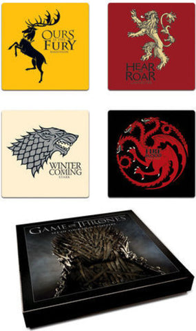 Game Of Thrones - Coaster Set