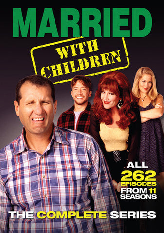 Married With Children - The Complete Series - Box Set - DVD