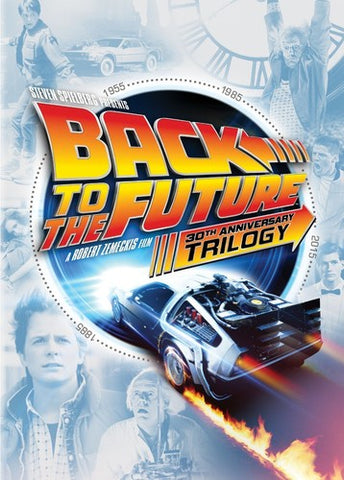 Back To The Future - 30th Anniversary Trilogy - Box Set - DVD Or Blu-ray