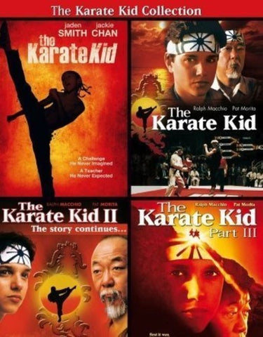 The Karate Kid - Movie Collection - 2014 - DVD