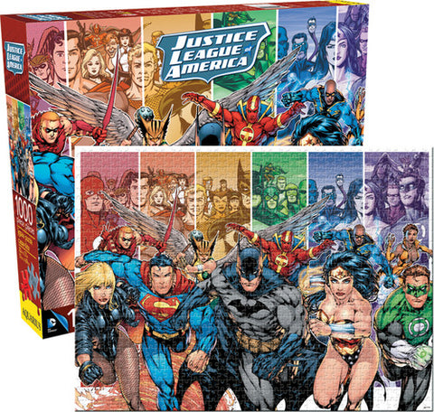 Justice League Of America - DC Comics - 1,000pc - Boxed - Puzzle