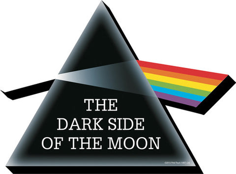 Pink Floyd - DSOM Triangle Prism Funky Chunky 2D - Magnet