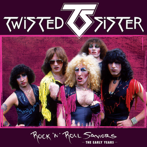 Twisted Sister - Rock 'N' Roll Saviors - The Early Years - *3 Disc Deluxe Box Set* 3 CD