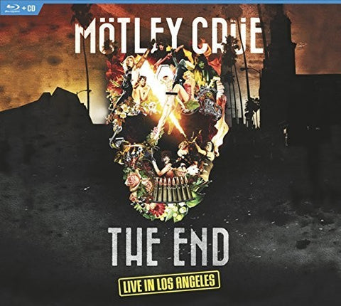 Motley Crue - The End - Live In Los Angeles - CD + Blu-ray