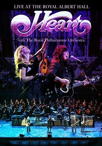 Heart - Live - Royal Albert Hall - Royal Philharmonic Orchestra - 2016 - DVD