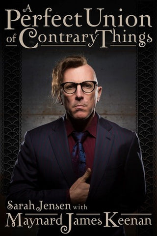 Tool - Maynard James Keenan - A Perfect Union Of Contrary Things (Hardcover) - Book