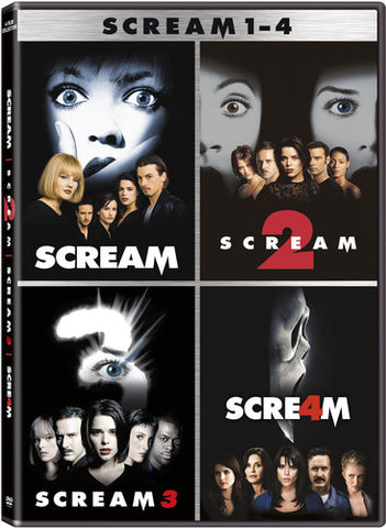 Scream Collection - 4 Films - Scream 1-4 (Boxed Set, Dolby, Widescreen)- DVD