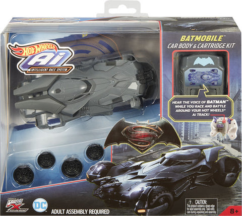 Hot Wheels - A.I. Batmobile Deluxe Shell And Expansion Card (DC)