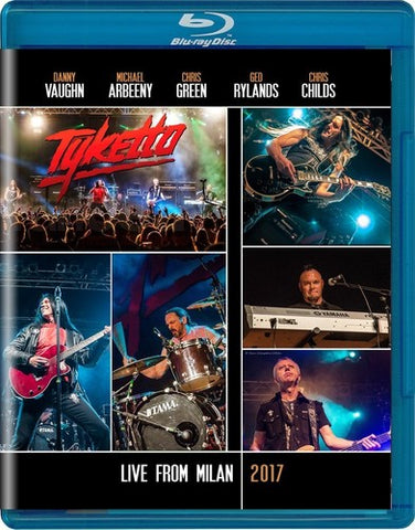 Tyketto - Tyketto: Live In Milan 2017 - Blu-ray