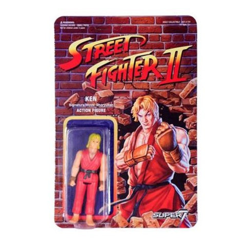 Street Fighter II - Action Figure - Ken