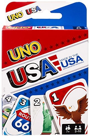 USA - UNO - Mattel - Card Game