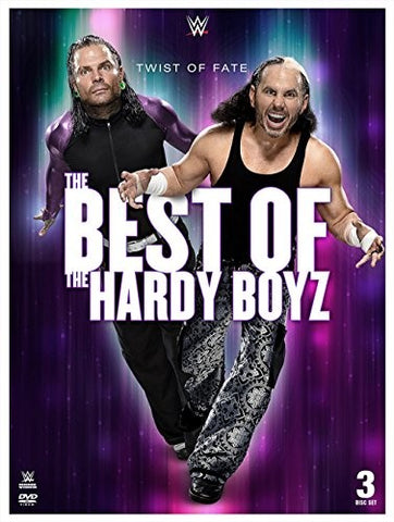 WWE - Twist Of Fate - Best Of Hardy Boyz *3 Disc Set* DVD