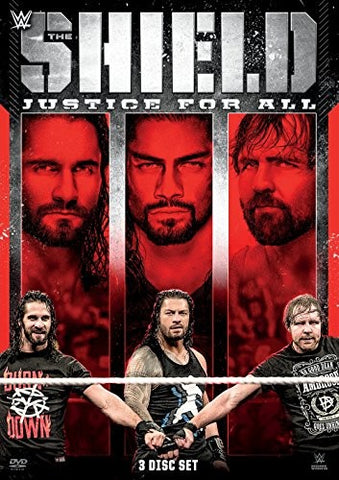WWE - The Shield: Justice For All *3 Disc Set* DVD