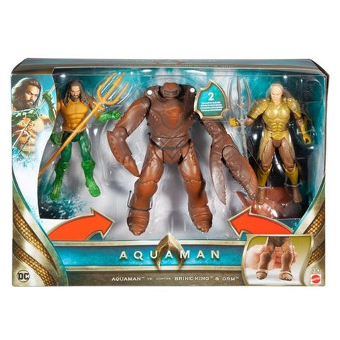 Aquaman - 6 Inch Figure Battle In A Box - Mattel