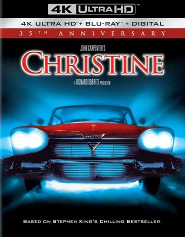 Christine - (4K Mastering, W/Blu-ray, Anniversary Ed. Digital) -1983/2018 - 4K Ultra HD