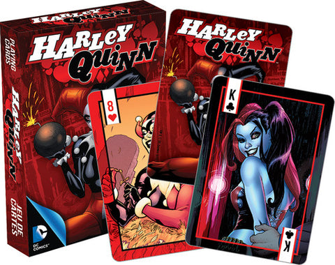 Harley Quinn - DC Comics - Deck Of Playing Cards