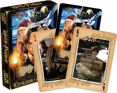 Harry Potter - Sorcerer's Stone - Deck Of Playing Cards
