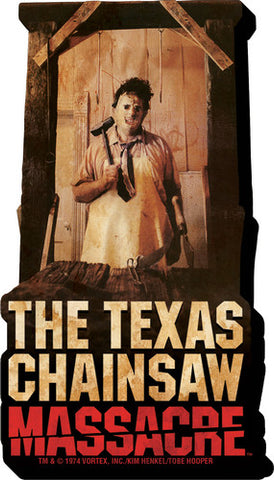 Texas Chainsaw Massacre - TCM - Funky Chunky 2D - Magnet