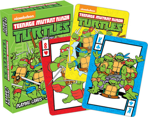 Teenage Mutant Ninja Turtles - Deck Of Playing Cards