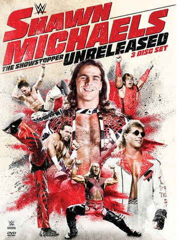 WWE - Shawn Michaels: The Showstopper Unreleased *3 Disc Set* DVD