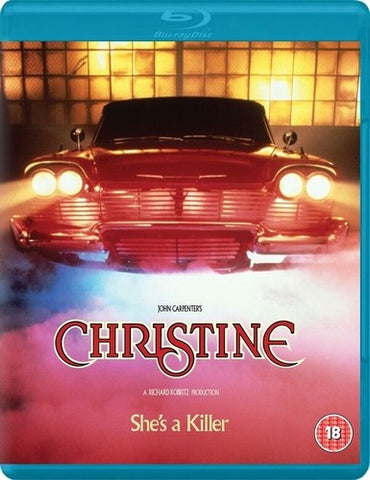 Christine - (UK Import-Region Free) *Limited* *Bonus Features* -1983/2018 - Blu-ray