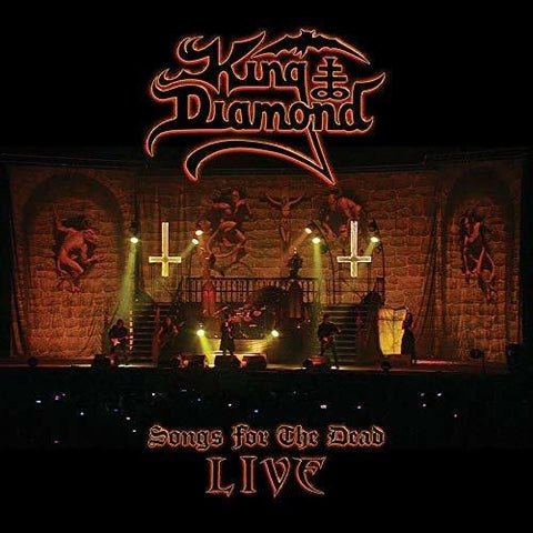 King Diamond - Songs For The Dead Live (CD/DVD Set Or Vinyl LP Album)
