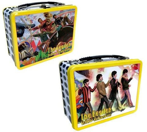 The Beatles - Alex Ross - Yellow Submarine - Tin Tote - Lunch Box