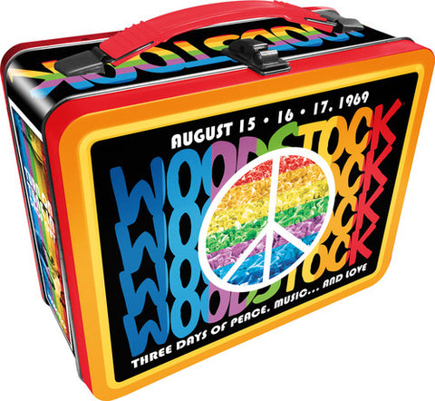 Woodstock - Tin Tote - Lunch Box