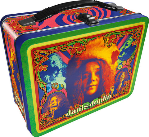 Janis Joplin - Tin Tote - Lunch Box