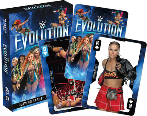 WWE - Evolution Playing Cards Deck