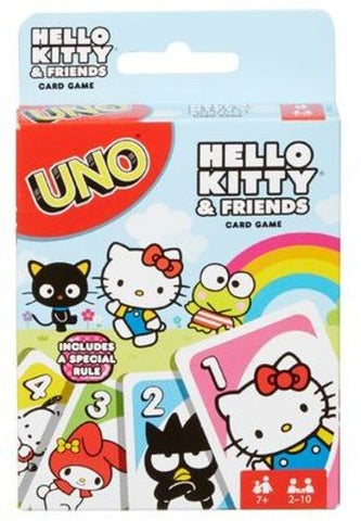 Hello Kitty - UNO - Mattel - Card Game