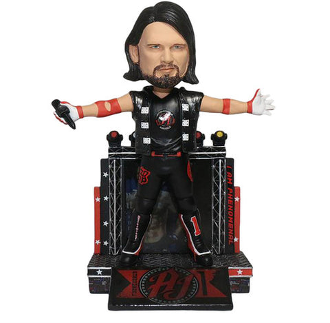 WWE - AJ Styles - Bobble Head Figure - Licensed - New