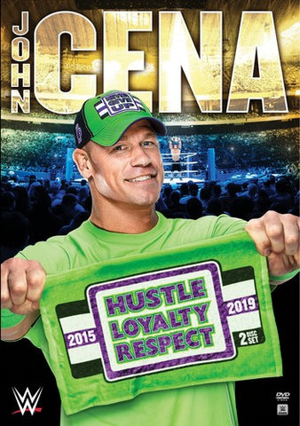 WWE - John Cena: Hustle, Loyalty, Respect *2 Disc Set* DVD
