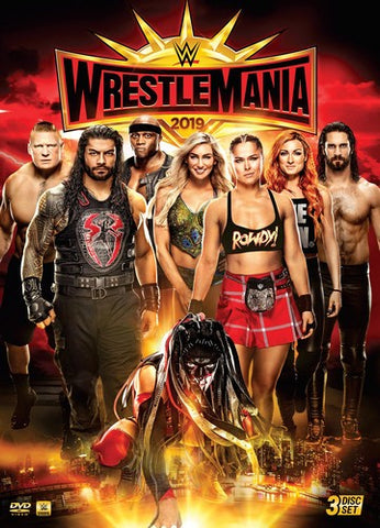 WWE - WrestleMania 35 *3 Disc Set* DVD