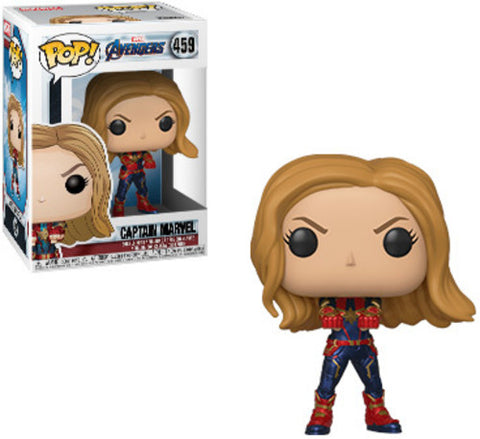 Avengers Endgame - Captain Marvel - Vinyl Figure - Marvel - Licensed New In Box
