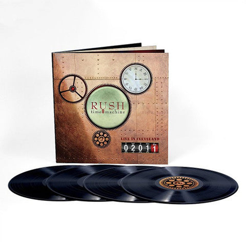 Rush - Time Machine 2011: Live In Cleveland - Boxed Set 200 Gram Vinyl LP Album