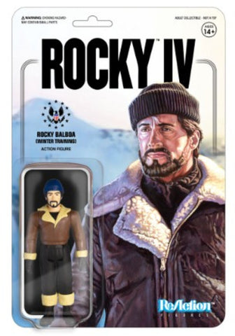 Rocky 4 - Rocky Balboa (Winter Training) - Vinyl Figure - Licensed - New In Pack