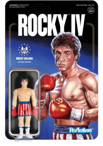 Rocky 4 - Rocky Balboa - Trunks - Vinyl Figure - Licensed - New In Pack