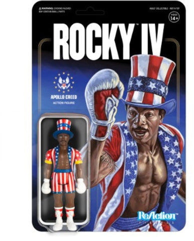 Rocky 4 - Apollo Creed - Vinyl Figure - Licensed - New In Pack
