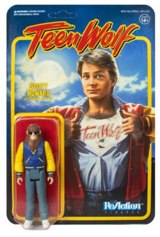 Teen Wolf - Action Figure - Scott Howard Letterman Edition - Collector's - Licensed New