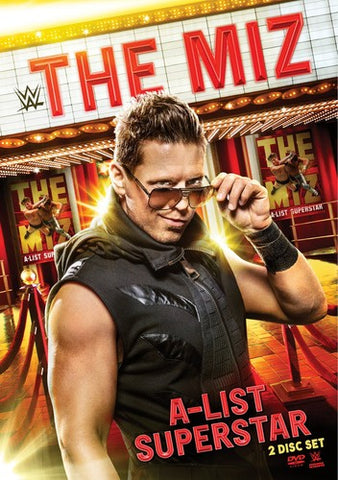 WWE - The Miz: A-List Superstar *2 Disc Set* DVD