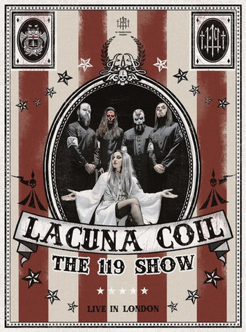 Lacuna Coil - The 119 Show: Live In London (Box Set) - DVD + 2 CD + Blu-ray